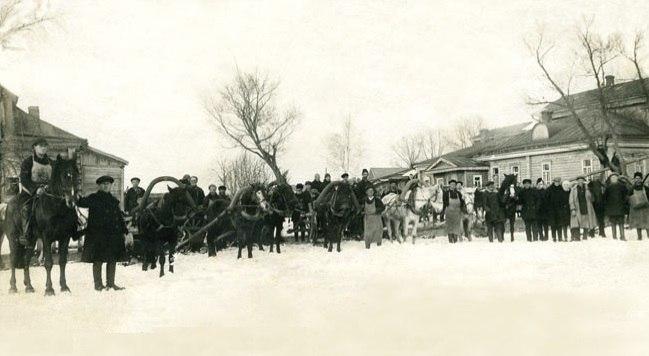 Фотография села Путилово зимой
